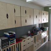 Platsbyggd klassrumsförvaring